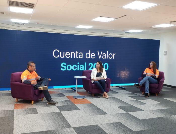 Escondida realizó su balance anual centrado en salud, seguridad y valor social