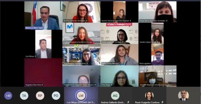Seminario web aborda el rol de los empleadores para prevenir el trabajo infantil