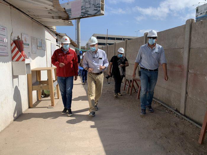 Construcción en Antofagasta fue destacada como una industria segura y reactivadora tras la cuarentena