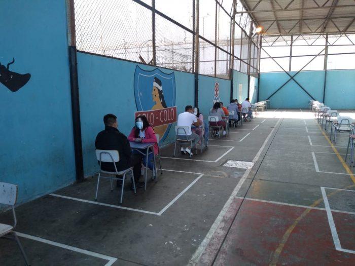 Dan inicio a las primeras visitas presenciales en unidades penales de la región de Antofagasta