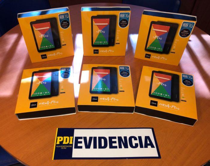 Delincuentes roban más de 140 tablets desde centro educacional de Calama