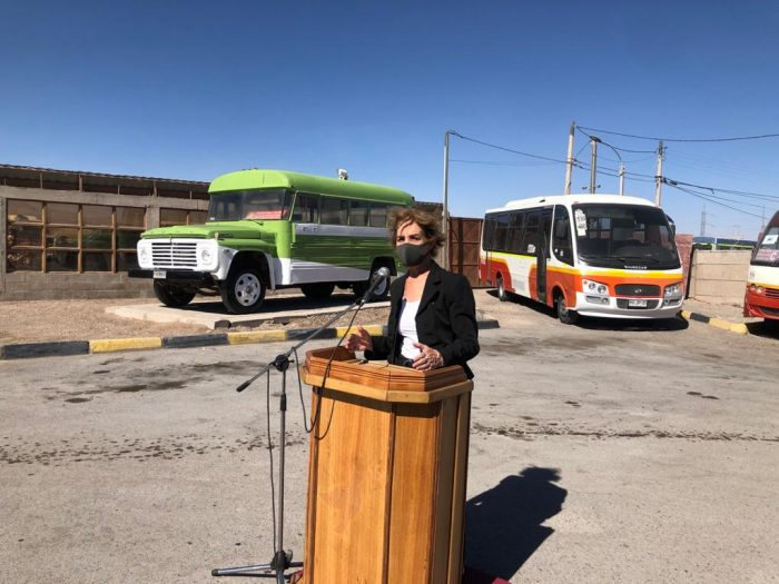 Calameños podrán planificar sus viajes del Transporte Público con una nueva aplicación móvil