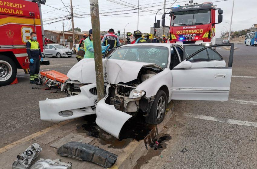 Dos accidentes se registraron en el inicio del año en Antofagasta
