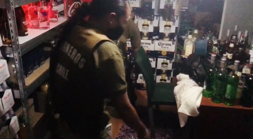 Año nuevo: 256 adultos mayores detenidos y dos menores sorprendidos en fiesta clandestina en Calama
