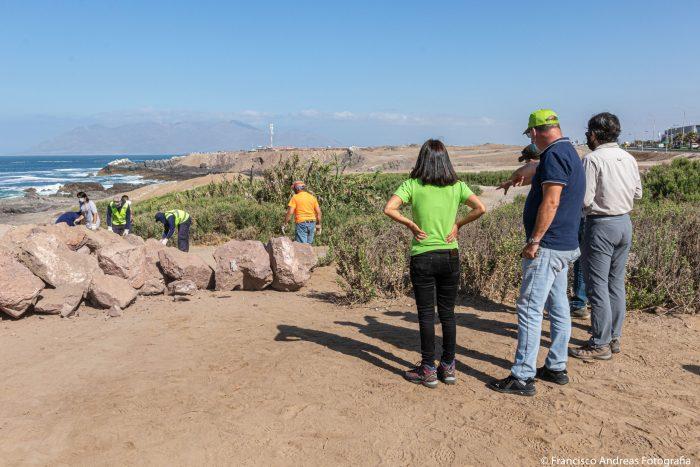 Cierran provisoriamente el Santuario de La Chimba para evitar ingreso de vehículos