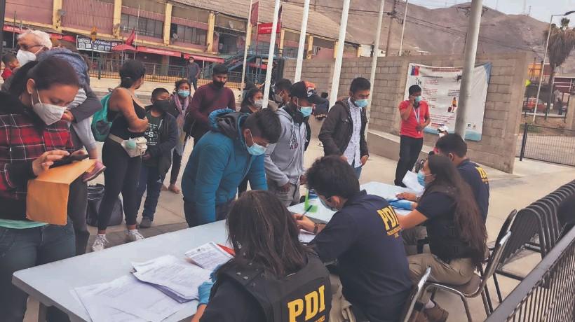 PDI encontró a 89 inmigrantes que ingresaron al país de forma ilegal