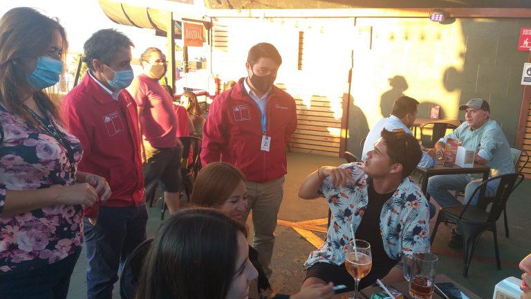 Autoridades revisaron apertura de locales gastronómicos en Antofagasta