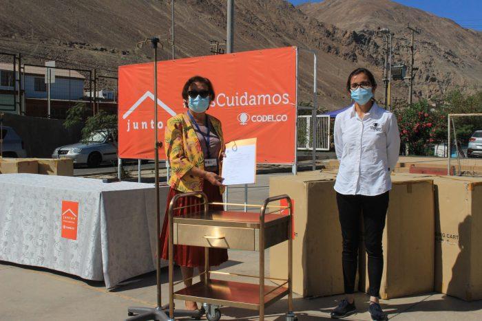 Hospital Marcos Macuada de Tocopilla recibió mobiliario revestido en cobre