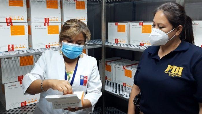 Hoy comienza el traslado de las vacunas a las nueve comunas de la región