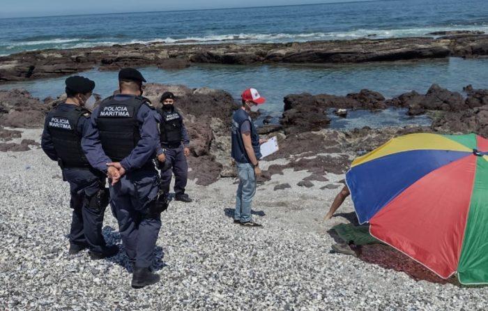 Antofagasta: Cursan 28 sumarios a personas que estaban en la playa