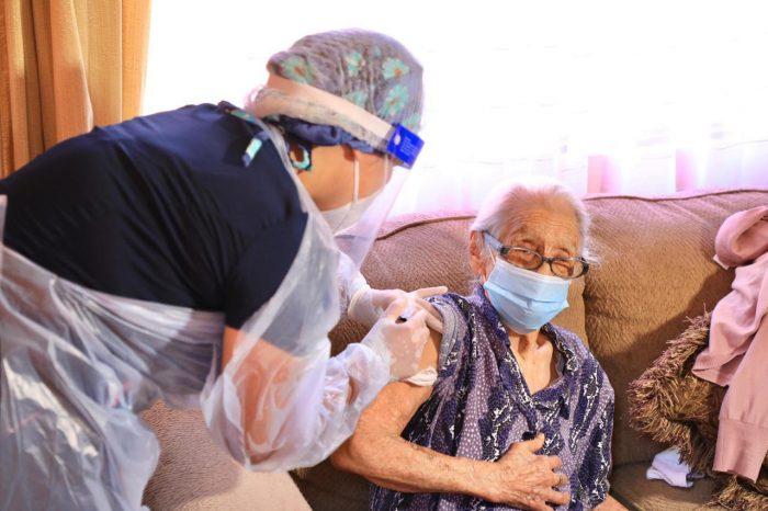 Región de Antofagasta: 15.800 personas ya recibieron su primera vacunación por Covid19