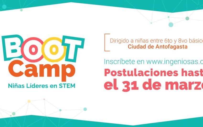 Iniciativa pionera en la ciudad de Antofagasta permitirá que niñas desarrollen habilidades en STEM