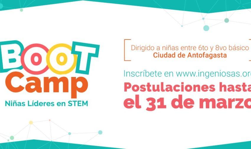 Ingeniosas y Escondida | BHP te invitan a postular al Bootcamp 2021: Niñas Líderes en STEM