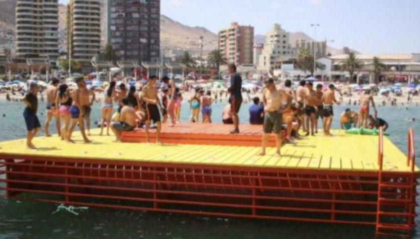 Solicitan embargo de la balsa del Balneario Municipal de Antofagasta