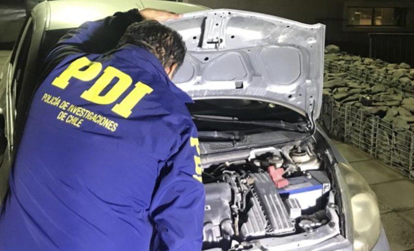 PDI Calama detuvo a pareja de colombiano y chilena tras portonazo