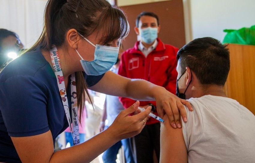 Salud inicia proceso de vacunación a personas en situación de calle en Antofagasta