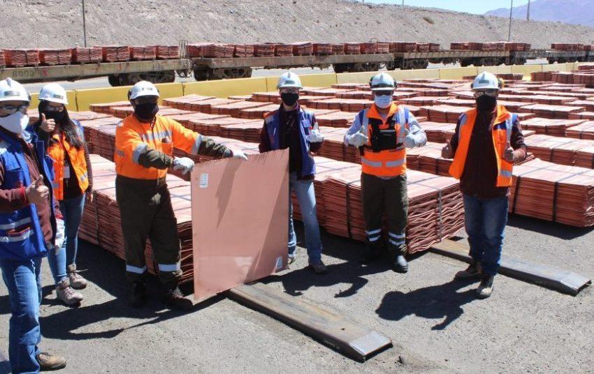 """Minera El Abra realiza su primer embarque de cátodos de cobre con clasificación """"Copper  Mark"""""""