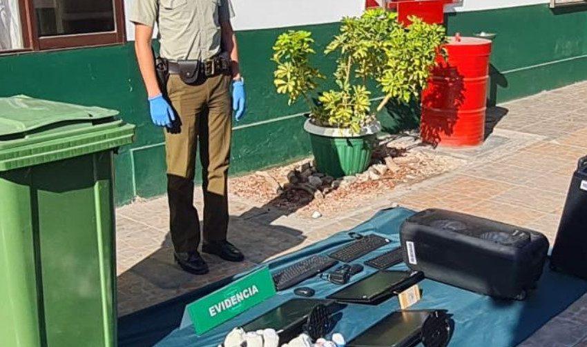 Logran recuperar parte de las especies robadas en sede Teletón de Antofagasta