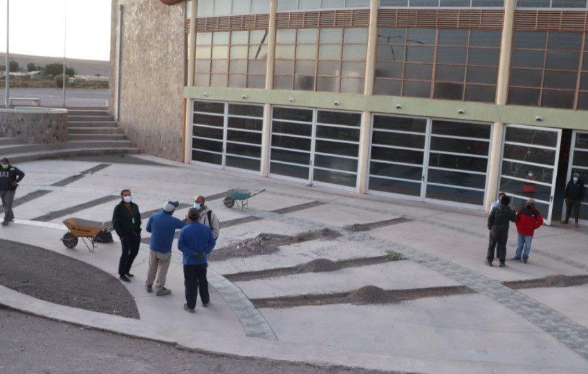 Poblado de Chiu Chiu contará pronto con su primera plaza de juegos para niños