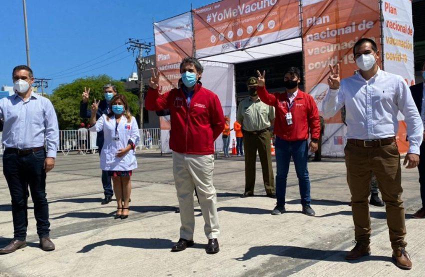 Escondida y Spence habilitan nuevo centro de vacunación para Antofagasta