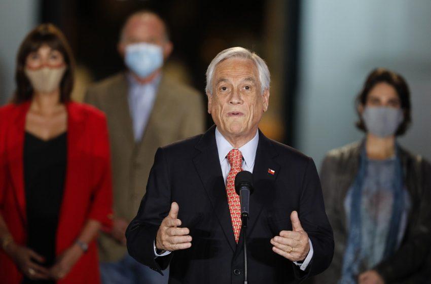 Piñera anuncio nuevo proyecto para el retiro del 10% en las AFP