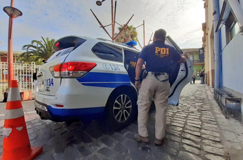 PDI detiene a sujeto acusado de violar a una mujer en una fiesta en Antofagasta