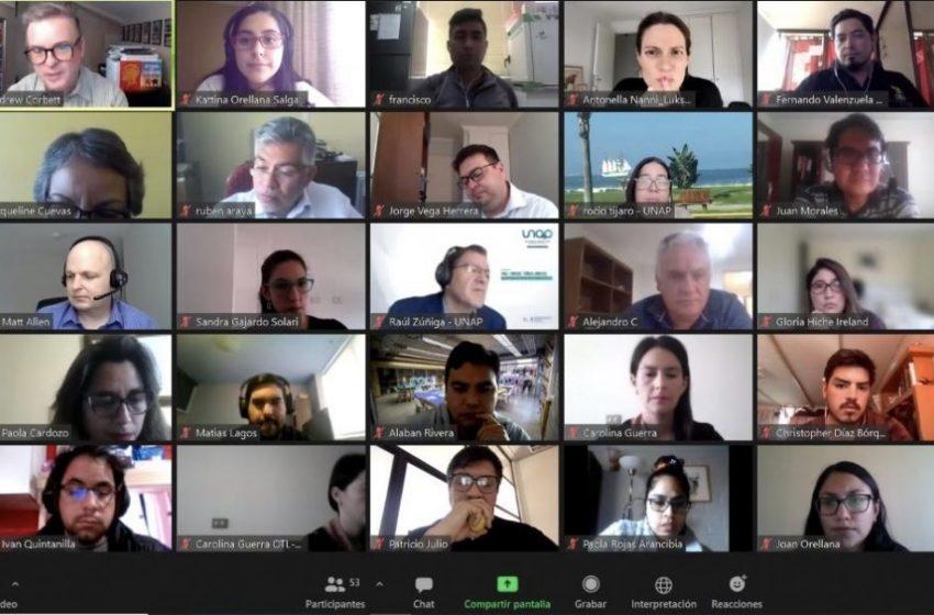 Exitosa primera semana de capacitación de Babson College a docentes del norte de Chile