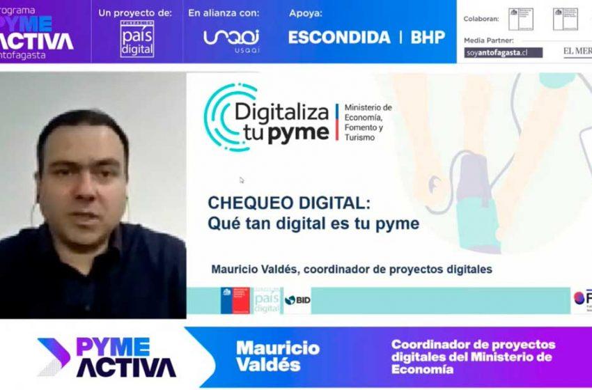 Finalizan capacitaciones online de Pyme Activa e inician acompañamiento digital para emprendedores de Antofagasta