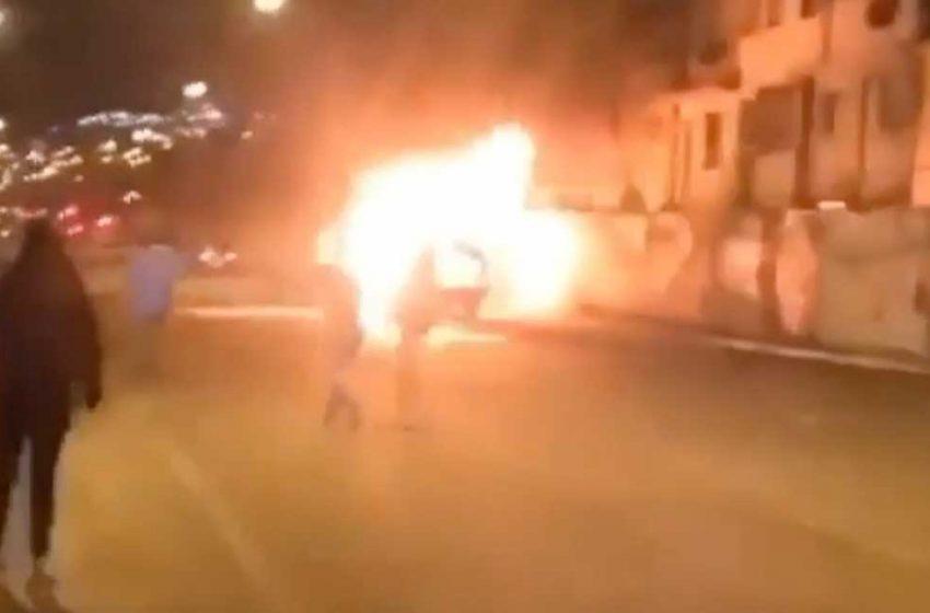 Tribunal condenó a exbombero que arrojó molotov a automovilista el 2019 en Antofagasta