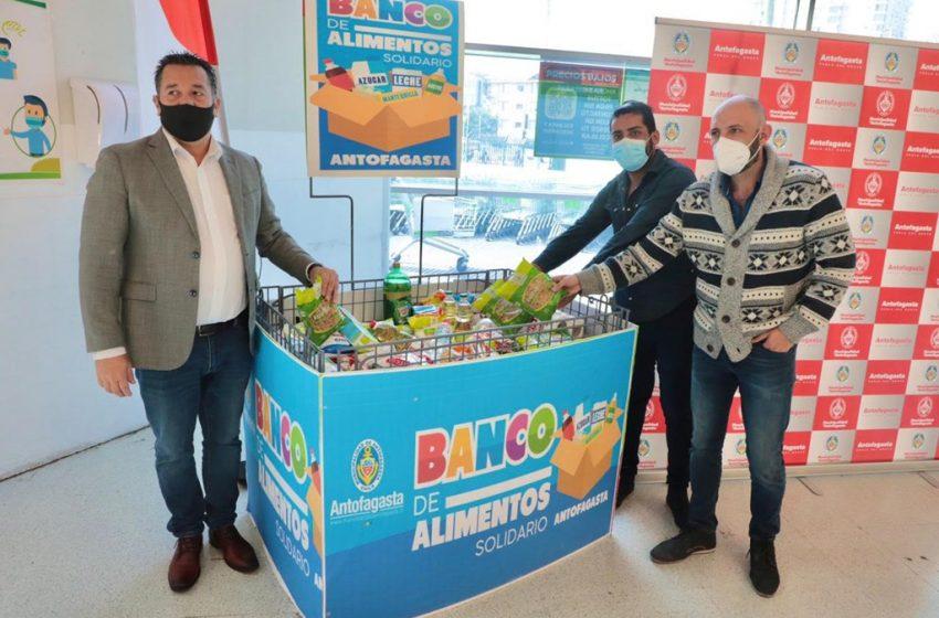 """Municipio de Antofagasta lanza un """"banco de alimentos"""""""