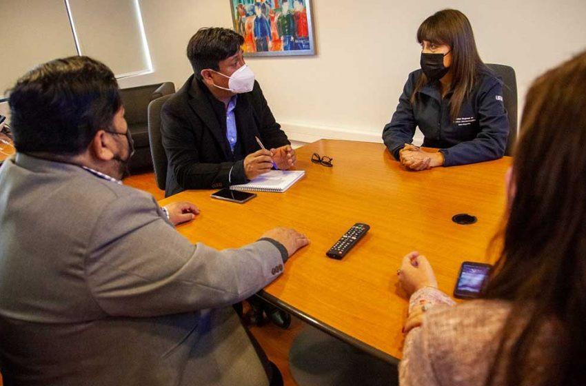Gobernador regional de Antofagasta comprometió una política del buen trato al interior del Gore