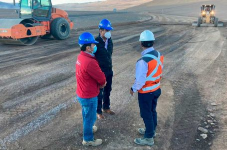 Taltal: MOP inició obras de conservación vial en Ruta B 710
