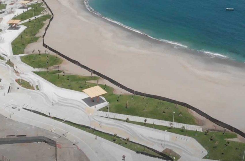 Obras Públicas aplica multa de $140 millones por retraso en la entrega de la playa La Chimba