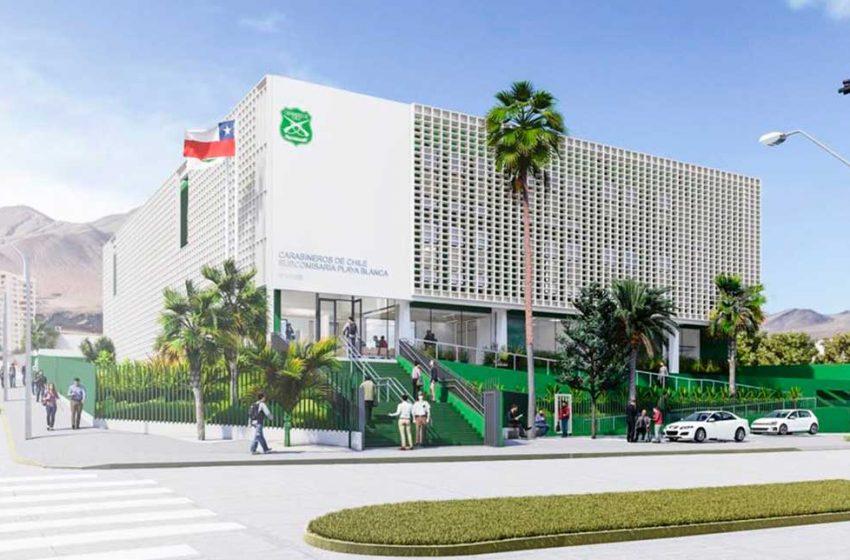 MOP terminó diseño para reposición de Subcomisaría Playa Blanca de Antofagasta