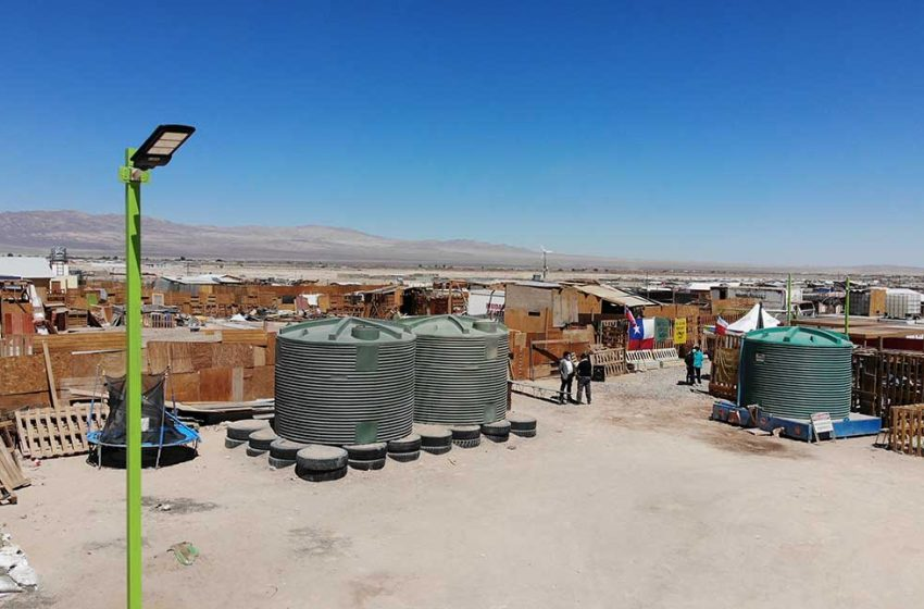 Minera El Abra con apoyo de Techo Chile mejoran condiciones de vida de más de 72 familias de Comunidad Ecológica Quetena
