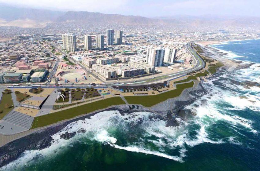 Realizarán mejoramiento de borde costero en sector Pinares – Trocadero de Antofagasta